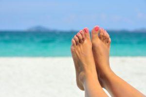 きれいな足ビーチ