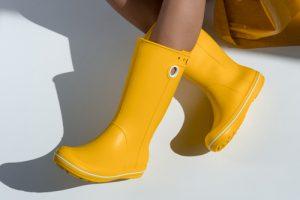 黄色いブーツ