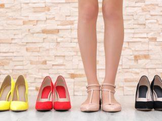 色々なきれいな靴