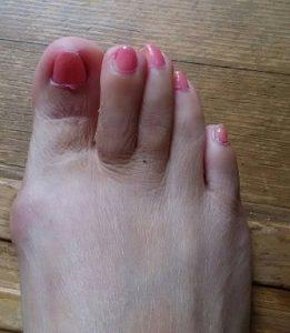 足爪の休日1
