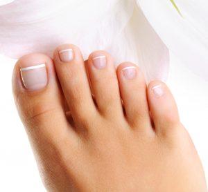 きれいな足の爪